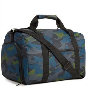 Small duffle bag travel case new